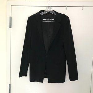 Dirk Bikkembergs black wool blazer size 44